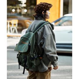 octopusme 4/F大学生多功能上学书包男女户外休闲旅游防水双肩包