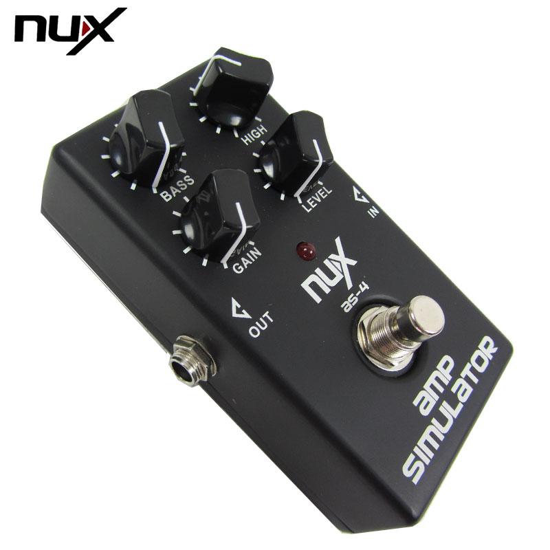 Тяжеловес маленький ангел NUX AS-4 счастливый это электрогитара потерять действительно отдельный кадр эффект устройство гитара