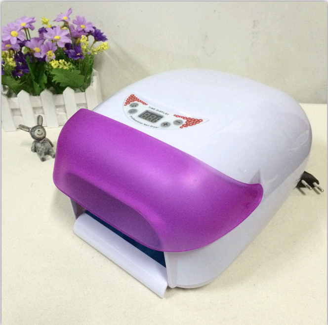 Package mail with fan manicure machine phototherapy lamp Nail Dryer manicure lamp