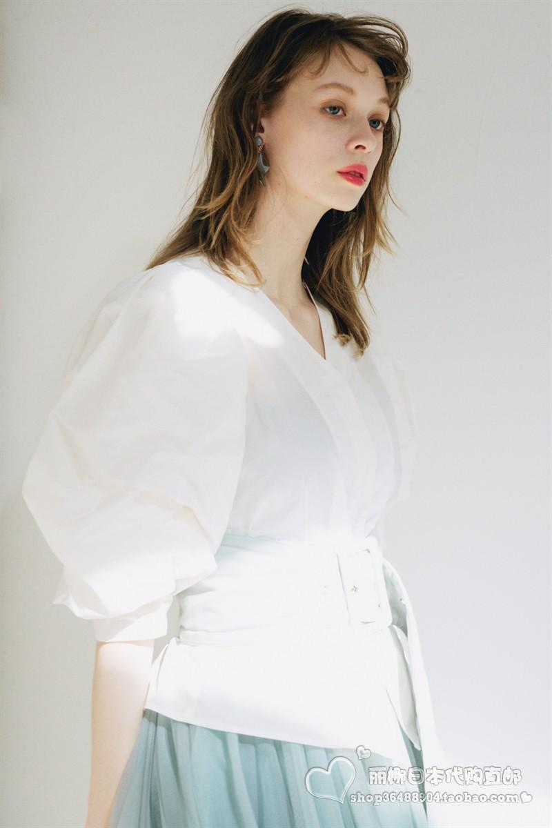 9折预约6月上◇丽娜日本◇20年夏LA BELLE ETUDE衬衫ETABL0620003