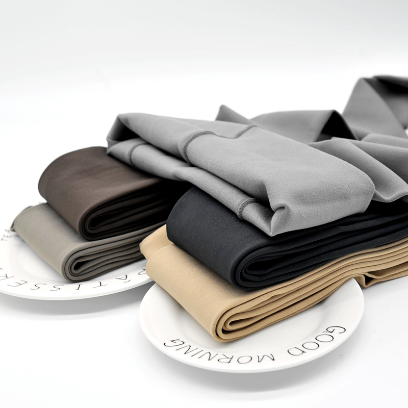 1600捻耐磨抗起球秋冬打底袜灰色加厚连裤袜加裆加大码胖MM超显瘦