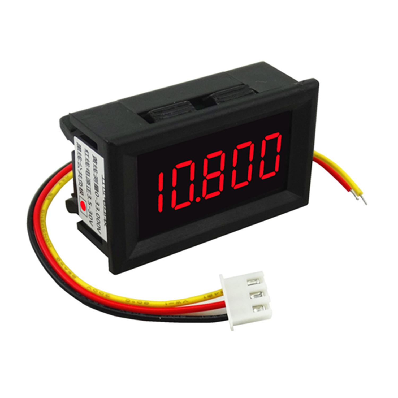 Превышать четыре половина мультиметр ! три провода пять напряжение стол 0-33.000V постоянный ток / digital power манометр глава