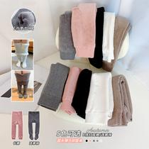 图图的商店2020冬装新款童装宝宝女童加绒加厚打底裤连裤袜外穿