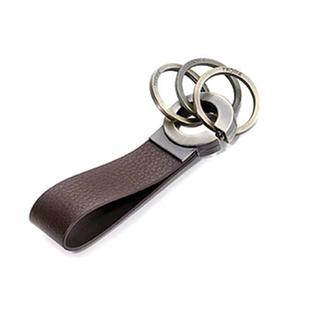 德国Troika三环男士汽车钥匙扣 创意钥匙圈 腰挂 不锈钢KR8-02/BR
