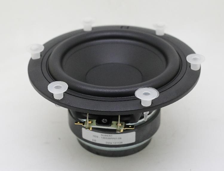 【低频毒物】全新 德国  双层铝合金盆架 5.5寸 双磁 中低音喇叭