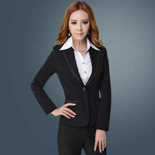 Office of the Civil Service interview dress overalls dress autumn female ol fashion career skirt suit tooling Ms