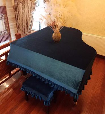 三角钢琴罩 全罩 高档 雅马哈丝绒 kawai卡哇伊 珠江 半罩 美式