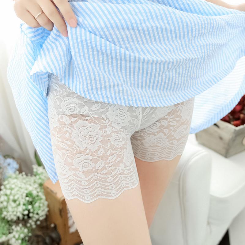 春夏季女薄防走光全蕾丝性感打底裤热销28件正品保证