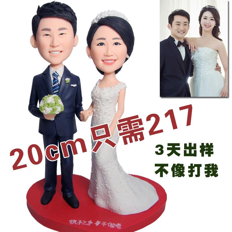 Полимерная глина кукла сделанный на заказ реальность кукла diy фото грязь человек воск так портрет день рождения любовник выйти замуж подарок стандарт