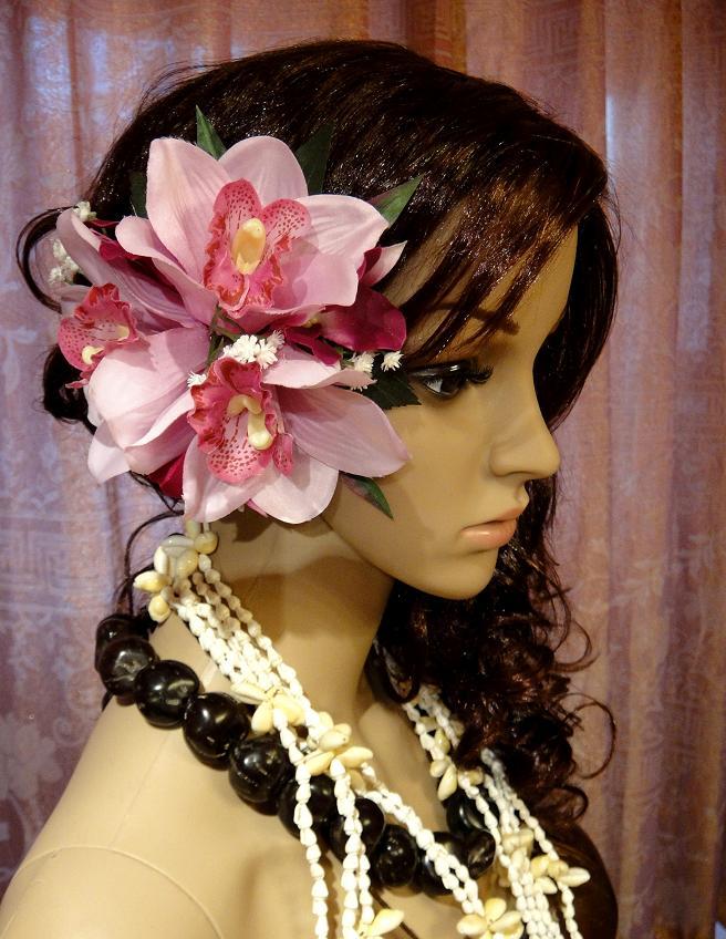 夏威夷草裙舞表演服配饰头花道具头饰沙滩头饰Hair Accessories