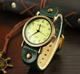  Цена 453  руб    Корейских студентов часы женский корейский ретро пояса пару мода женский кварцевые часы личности мода стол часы