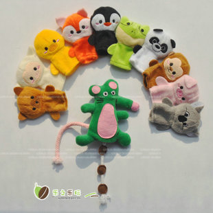 Baby finger even storytelling props variety of parent child interaction animal baby Tong Yizhi toys 0 1 years old 10