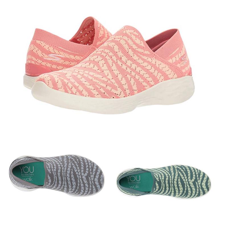 Skechers 斯凯奇 You系列 女子网步休闲鞋 透气单鞋 健步鞋 14972