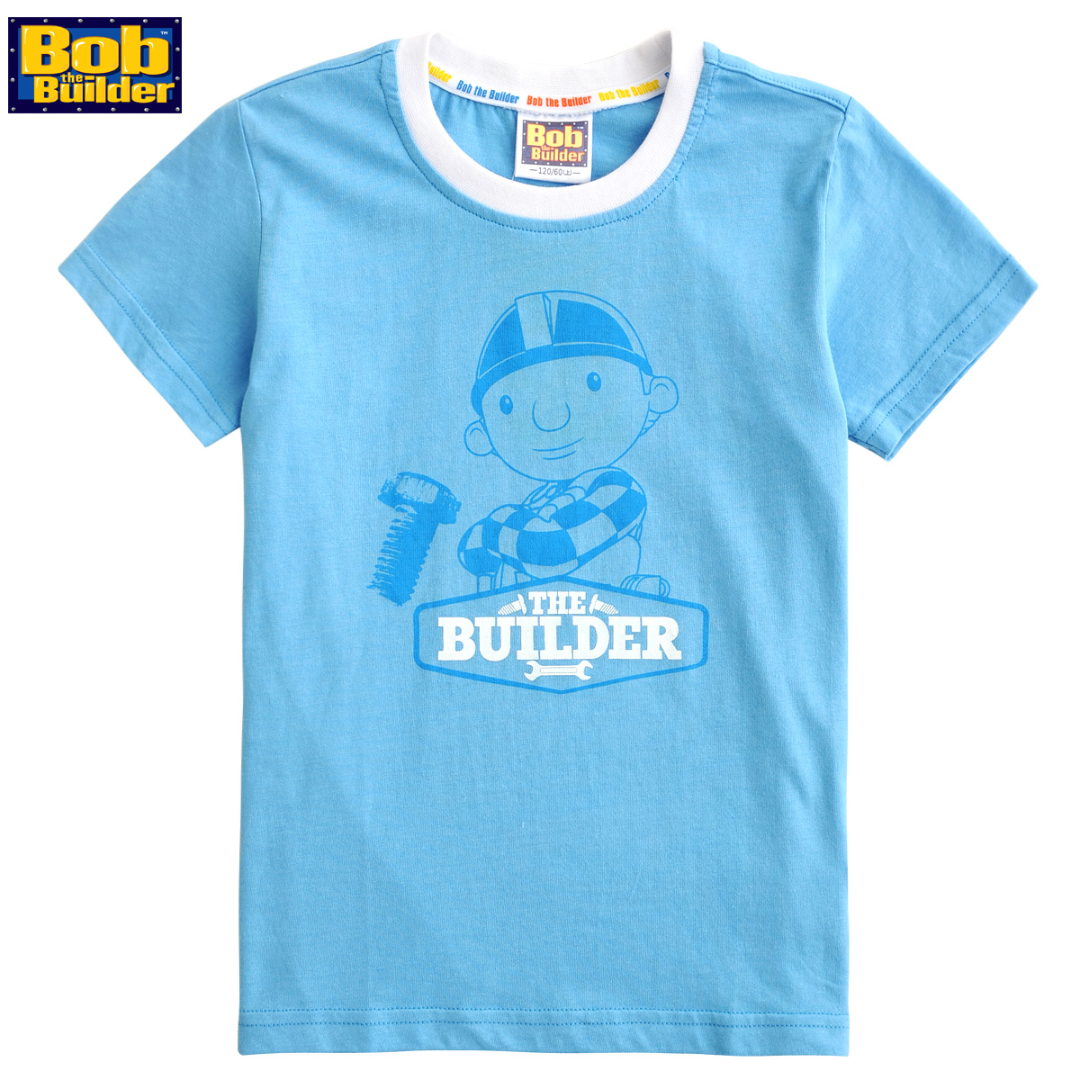 博士蛙巴布工程师童装专柜正品男童短袖T恤圆领衫纯棉OTA582511