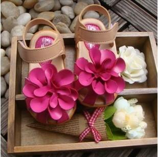 Баотоу цветок Детская обувь для девочек сандалии новый 2014 летних детей иностранных принцесса сандалии обувь Детская обувь