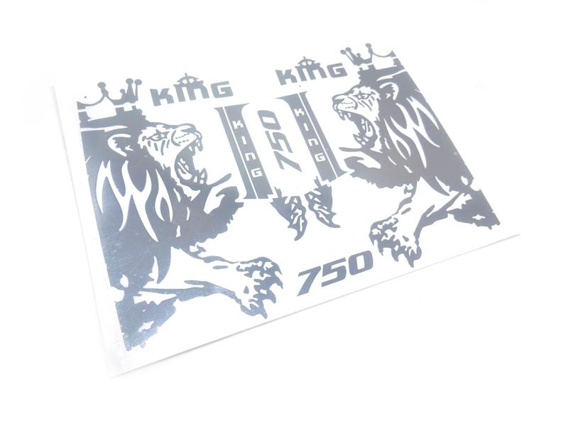 1/14田宮RC 56360ボルボFH 16750ライオンキング塗装ラテアートメタルステッカー