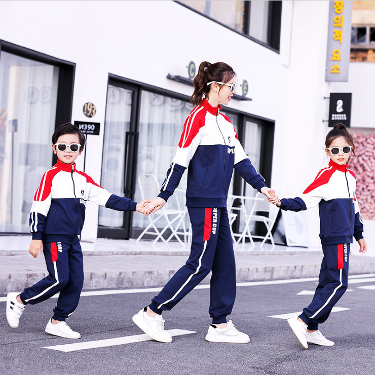 12-15-year-old parent-child clothes 7-9-year-old autumn sports suit boys and girls leisure sweater family decoration mother and child mother and daughter
