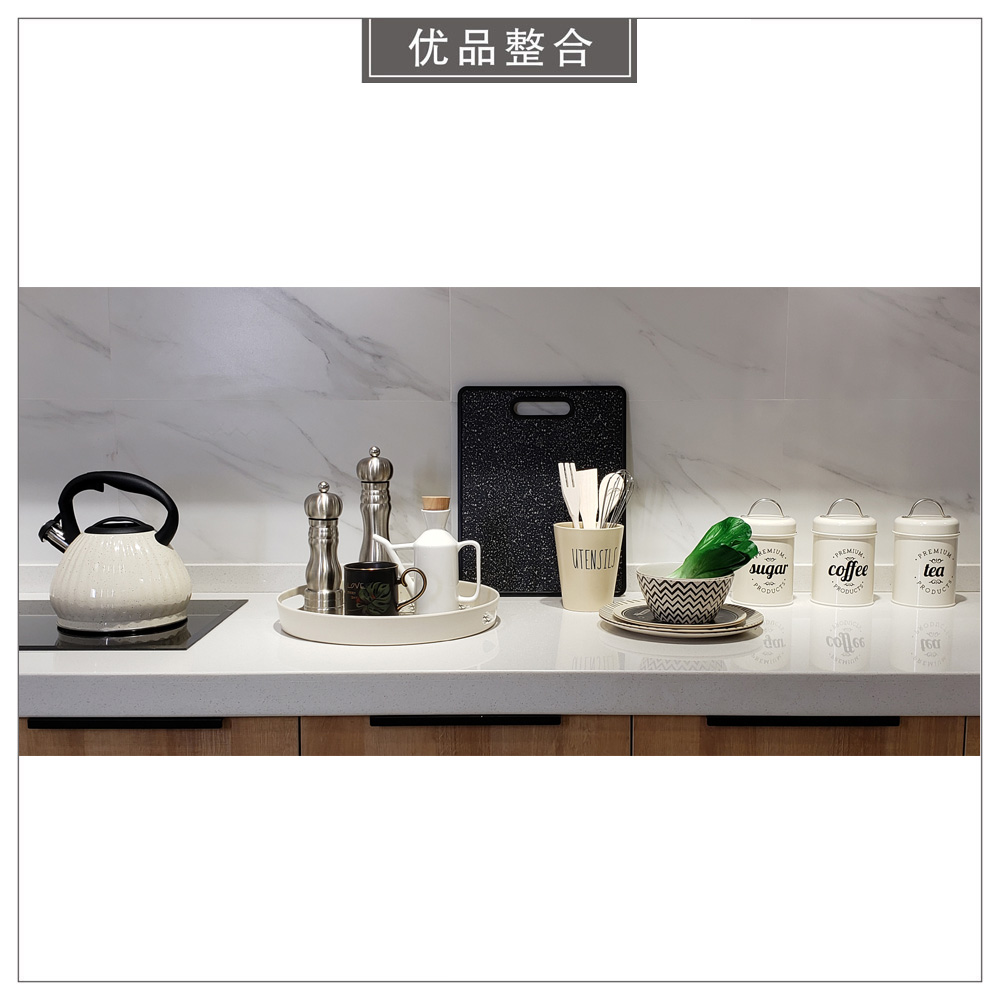 Model room simple home furnishings Nordic soft decoration kitchen utensils dishes bowls storage tank combination zh2016