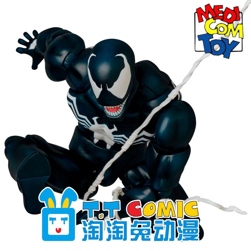 【补】089日本正版MEDICOM MAFEX蜘蛛侠反派手办模型毒液Venom
