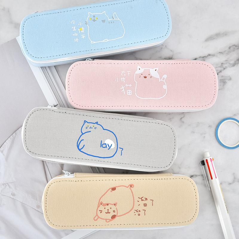 包邮日韩国创意简约女生可爱铅笔盒正品保证