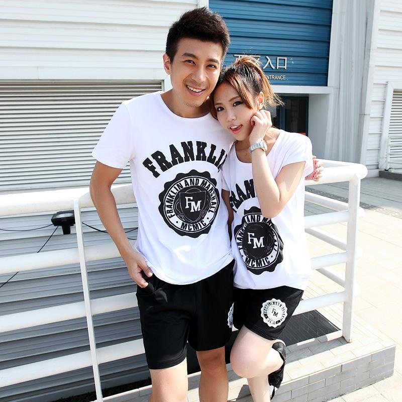 正品新品牌the couple pig夏季短袖情侣装圆领创意夏装女T恤18fm