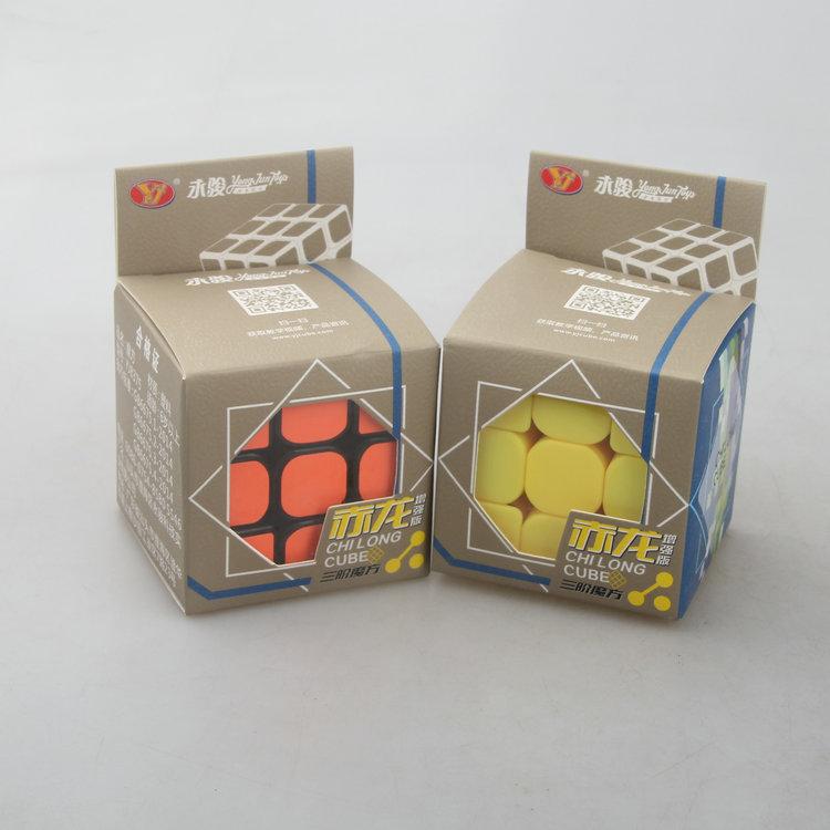 YJ永骏赤龙升级版三阶魔方 赤龙三阶增强版比赛魔方热销2件假一赔十