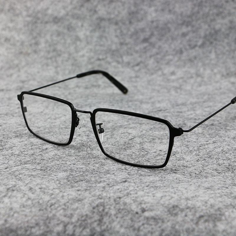 超轻金属复古潮男全框商务女眼镜框