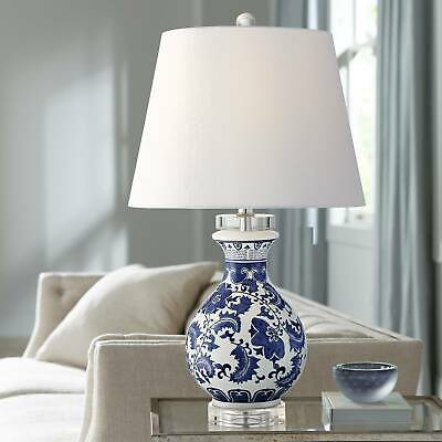 Buy Megan China style ceramic table lamp living room bedroom bedside dining table European creative simple modern study