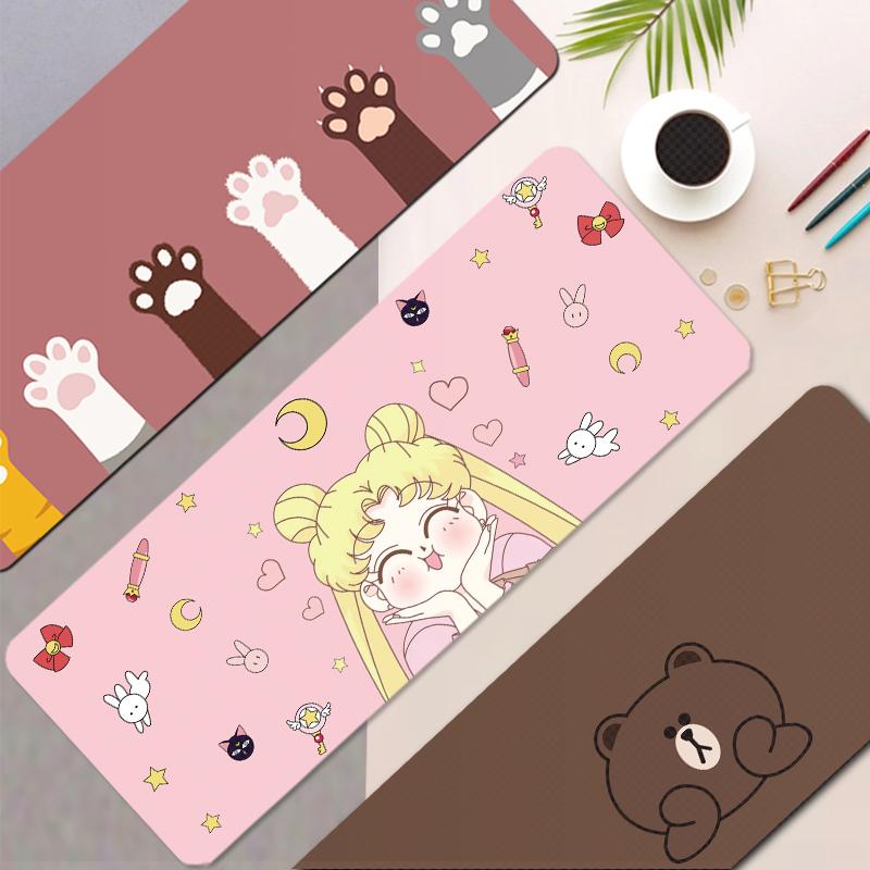 可爱鼠标垫超大漫威游戏办公桌垫