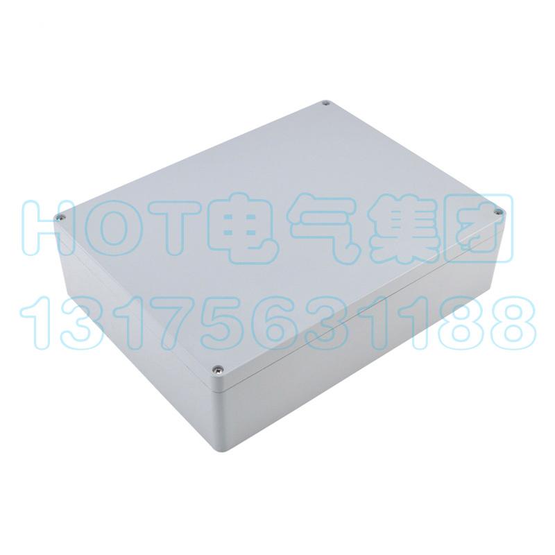 大型铸铝防水接线盒ACD12防爆阻燃屏蔽分线金属工控盒400*310*110