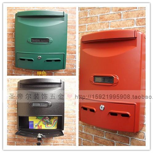 Экспорт почтовых ящиков винтаж Европейский почтовый ящик предложение поле открытый дождь почтовый ящик почтовая паста дверь номер слово