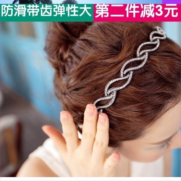 日本尚头饰品中年人新颖洋2020发箍女外戴发卡时气大人妈妈款带齿