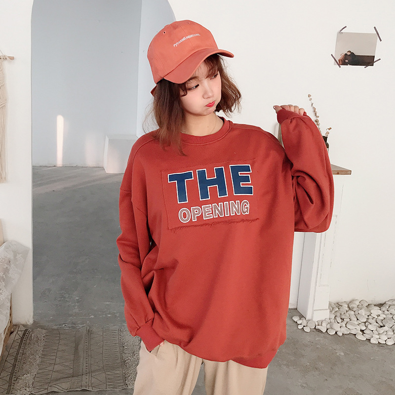 Spring 2020 new style sweater womens loose Korean fashion T-shirt