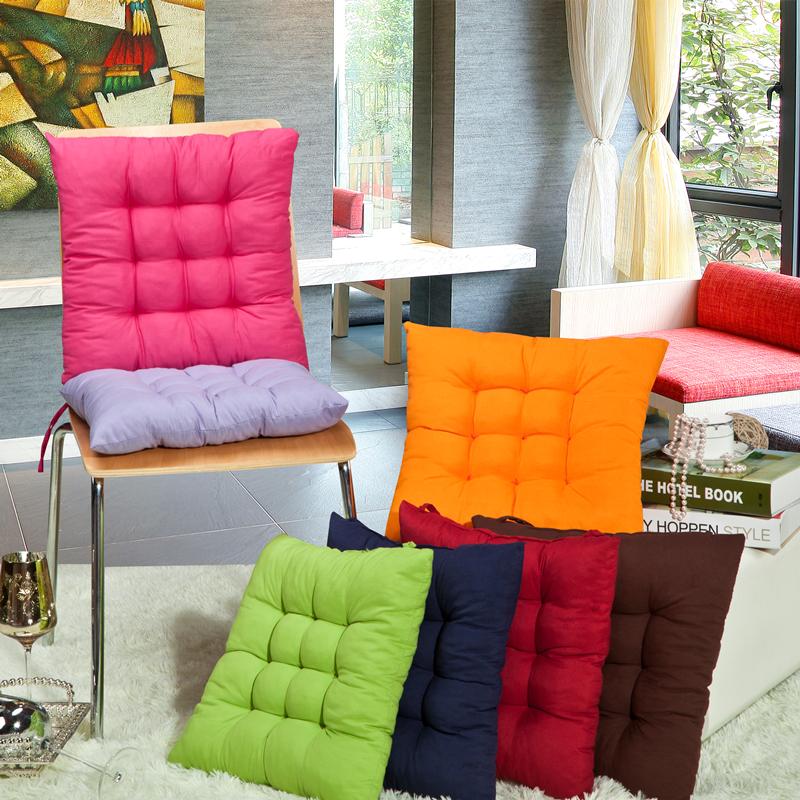 Подушка pad офисный стул обеденный стул подушки Диван подушки автомобиль коврики не скольжения мягкий теплый Подушка 7 цвет пакета почты