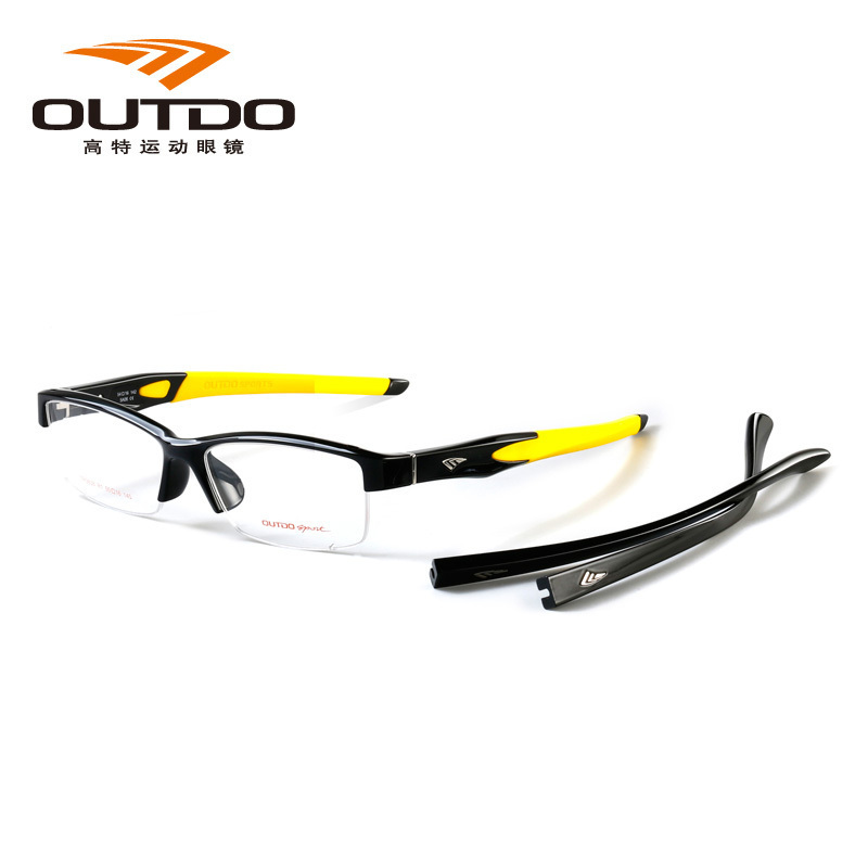 New gout / outdo mens and womens myopia glasses frame Chaoren leg changing fashion sport tr9838