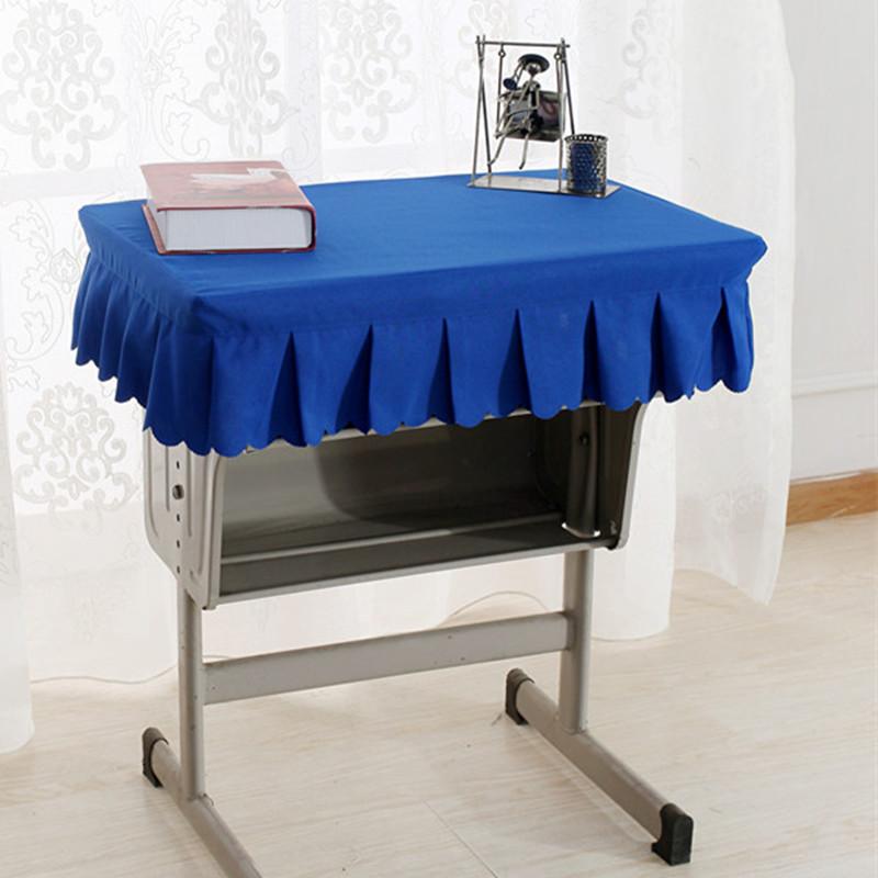 环保加厚学生桌布课桌套凳子套讲台套培训桌桌罩多色可定做