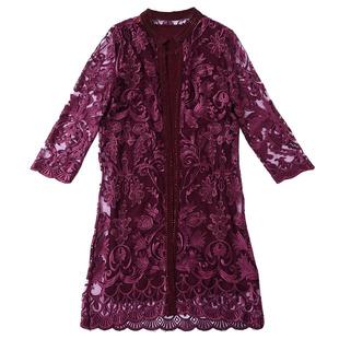 高贵套装春女儿结婚宴喜庆两件套连衣裙年轻婆婆妈妈婚礼母亲礼服
