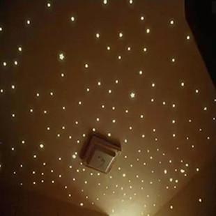 夜光荧光星星月亮墙贴卧室客厅宿舍儿童房墙面天花板装饰贴纸贴画