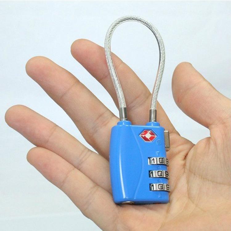 Из страна таможенные замок tsa пароль замок трос багажник род коробки пакет противоугонные замки замок проверить через закрыть