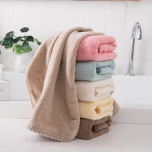 Towel 2 pieces of pure cotton face washing household men's and women's handkerchief thickened, absorbent, hair free, adult and children's face towel bath towel