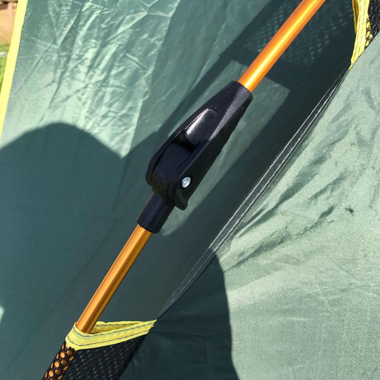 На открытом воздухе автоматическая палатка DIY монтаж ремонт стоять пластик сложить совместная соединитель волокно алюминиевых сплавов общий
