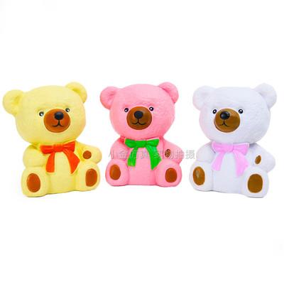 squishy慢回弹软冰淇淋可爱少女心泰迪熊雪糕冰激凌发泄动物玩具