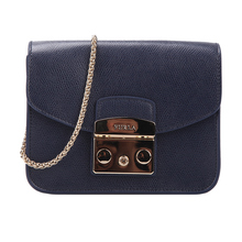Furla Fula Single Shoulder Inclined Metal Chain Bag Square Bag Fashion Candy Piggy Bag BGZ7