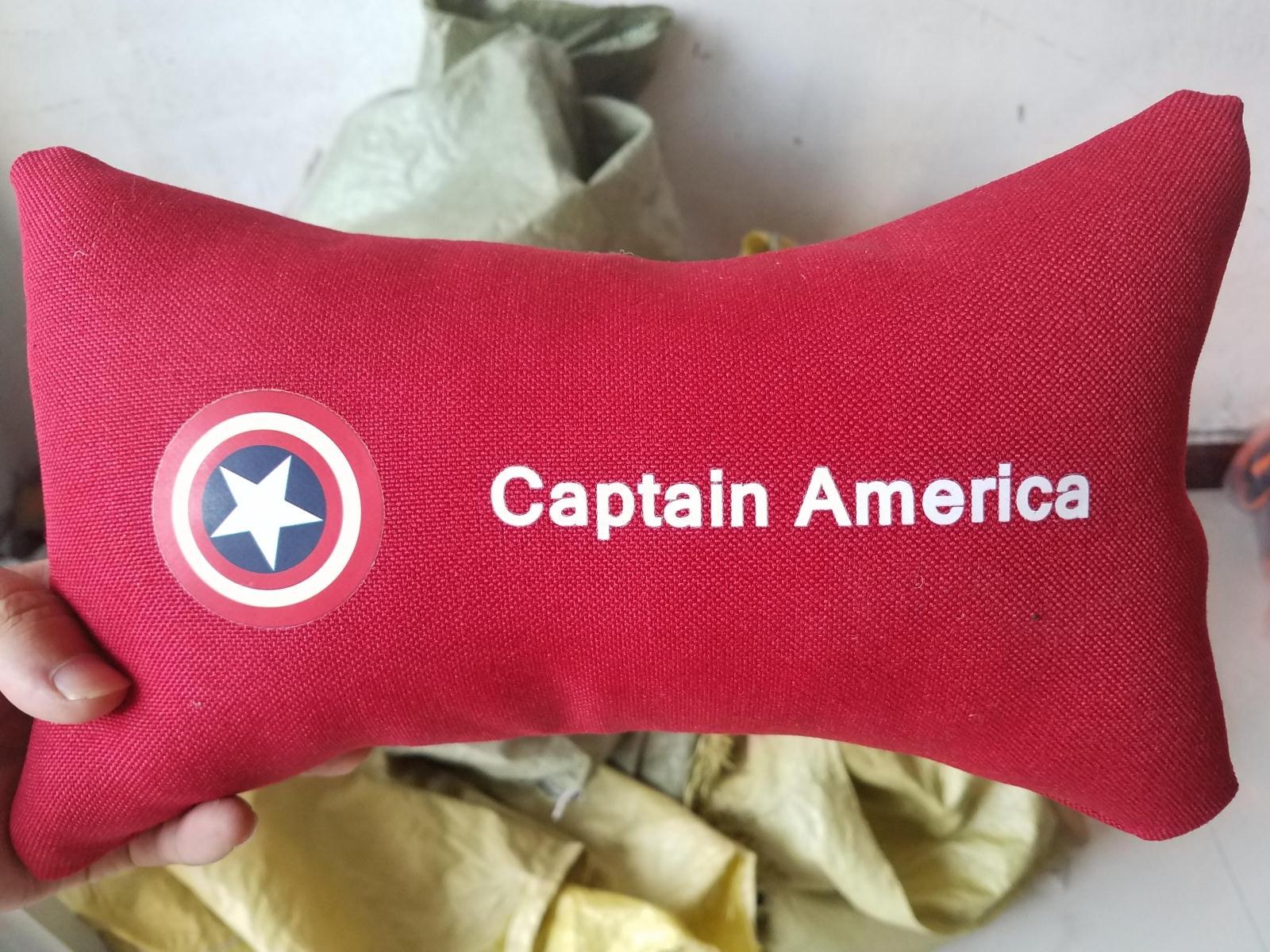 汽车颈枕  小枕头 超人 金刚 机器猫 蝙蝠侠布朗熊 美国队长颈枕