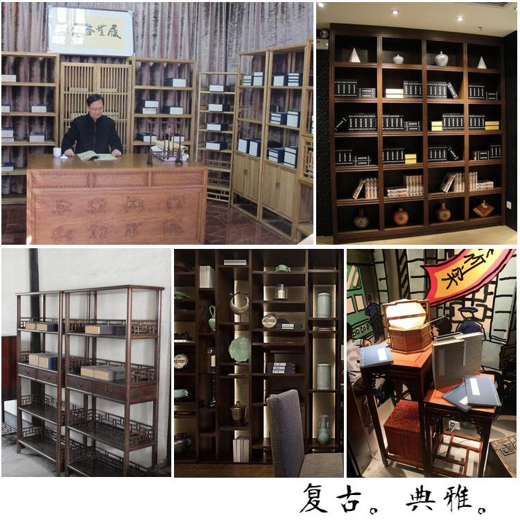 新中式复古装饰道具书软装样板间摆件书房书盒全封闭函套线装书盒