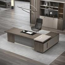 办公家具新款总裁办公桌简约现代大气老板桌椅组合班台时尚经理桌