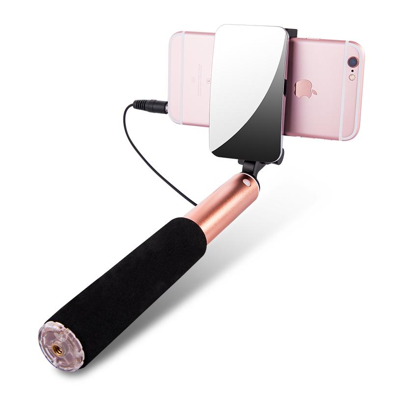 阿仙奴 杆蘋果7手機 迷你線控神器架小米自牌6plus安卓6s