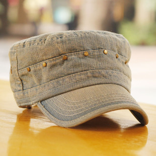 Goorin Bros flat cap spring and summer cap male female Korean couple flat cap rivet young cowboy Bumao