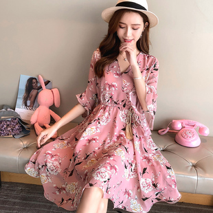 The snow spins the one-piece dress summer clothing 2018 new style female sukol skirt to restore the old the sand beach first love skirt ultra immortal skirt children summer