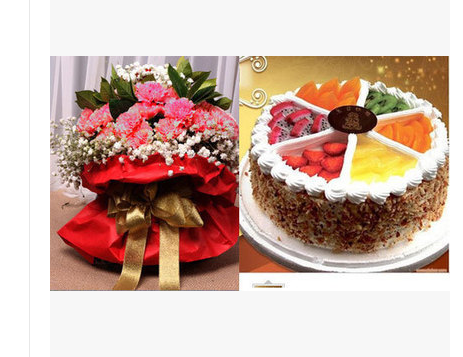 Dongguan Shilong Town New Town Old Town West Lake cake fresh flower shop intra city express delivery rose lily